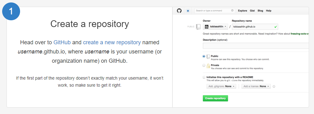 github pages tutorial